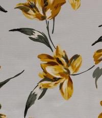 Half linnen flower oker