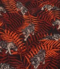 Viscose tijgerjungle