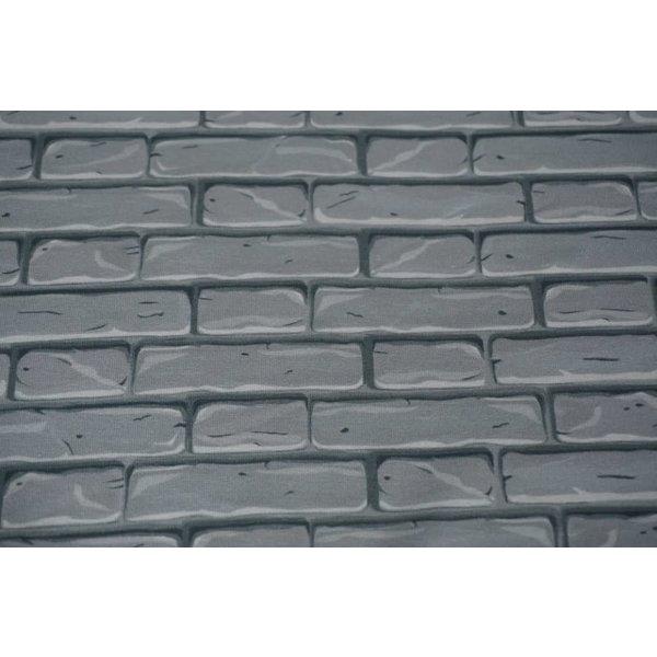 Tricot steen grijs