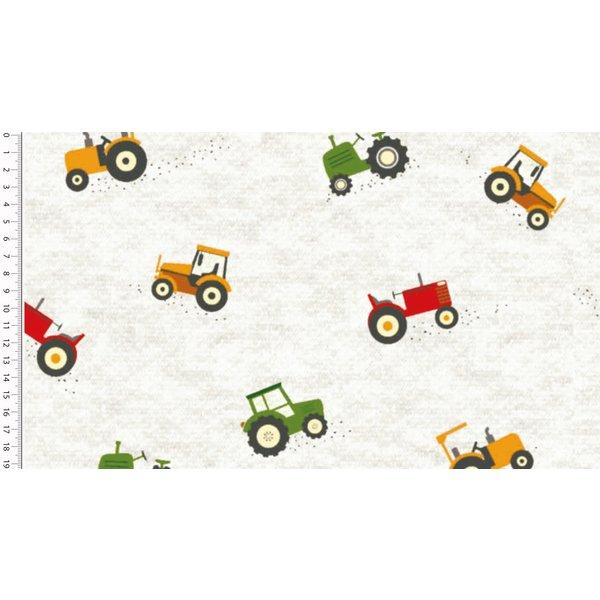 Jogging ecru melee tractor