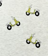 Jogging ecru met scooters