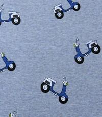 Jogging blauw met scooters