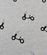 Jogging grijs met scooters