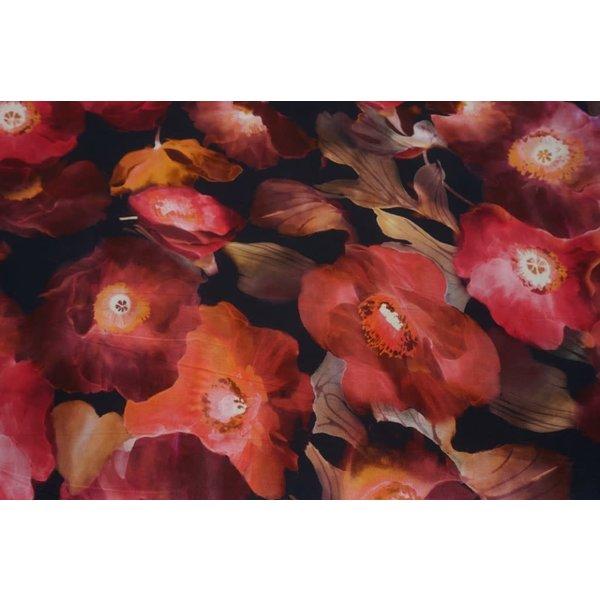 Megabloem rose en rood