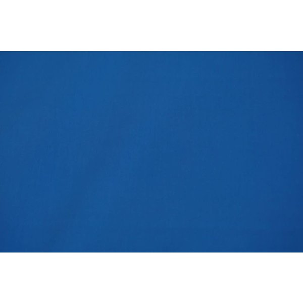 Katoen satijnbinding kobalt