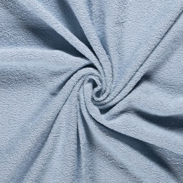 Badstof grijsblauw