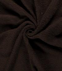 Badstof donker bruin