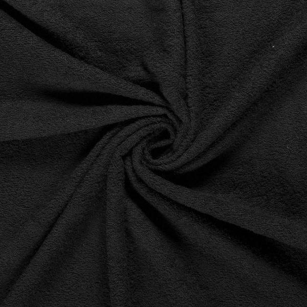 Badstof zwart