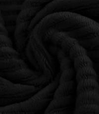 Jersey rib zwart