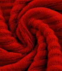 Jersey rib rood