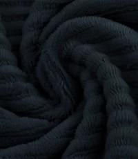 Jersey rib donkerblauw