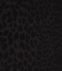Punta di Roma tijgerprint zwart