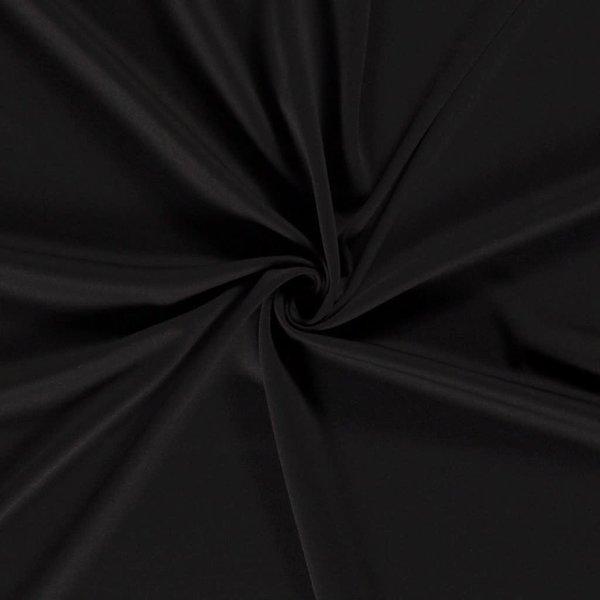 Crepe georgette zwart