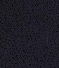Chiffon met kleine stipjes donkerblauw