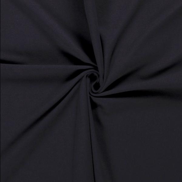 Katoenen tricot zware kwaliteit donkerblauw