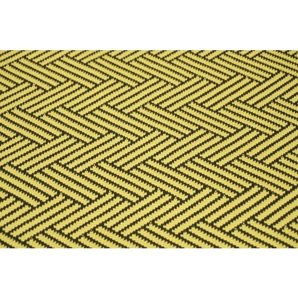 Zigzag geel met zwart
