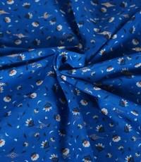 Felblauwe minibloem