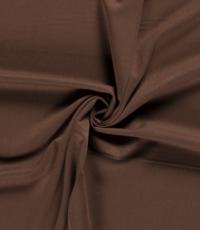 Gabardine stretch bruin