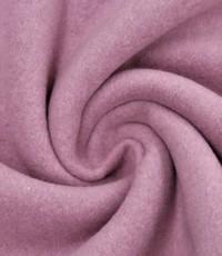 Double fleece katoen oude rose