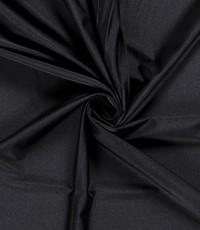 Uni travelstof zwart
