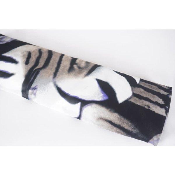 Zebrablad met paars