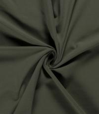 Katoenen tricot zware kwaliteit legergroen