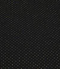 Gebreid zwart met glitterstipje
