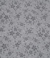 Gebreid kleine grijze bloem