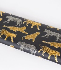 Cheetah meets tiger