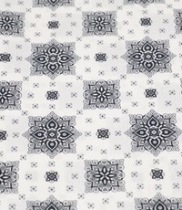 Tegels in zwart en wit
