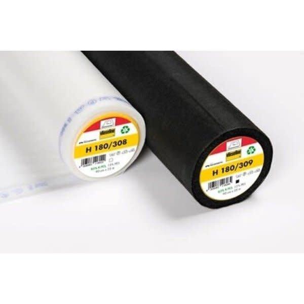 Vlieseline H180 100x90cm zwart