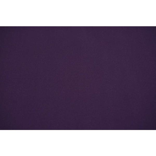 Gabardine stretch donker paars