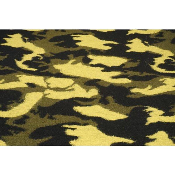 Gebreide wol army style