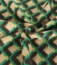 Gebreide wol groene wyber