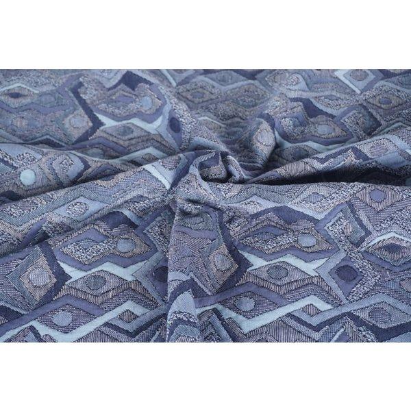 Gebreid Matisse blauw