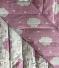 Gewatteerd roze wolkjes