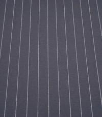 Punta krijtstreep grijs