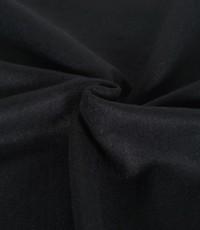 Gekookte wol zwart