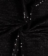 Pailletten zwart