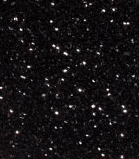 Paillet dubbele rij zwart