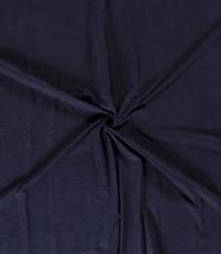 Cupro donkerblauw