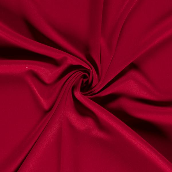 Gabardine stretch donker rood