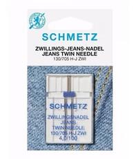 Tweelingnaald jeans