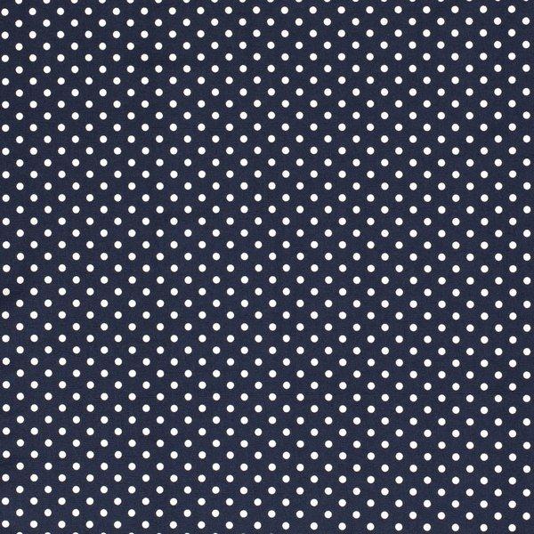 Polyester ministipje blauw