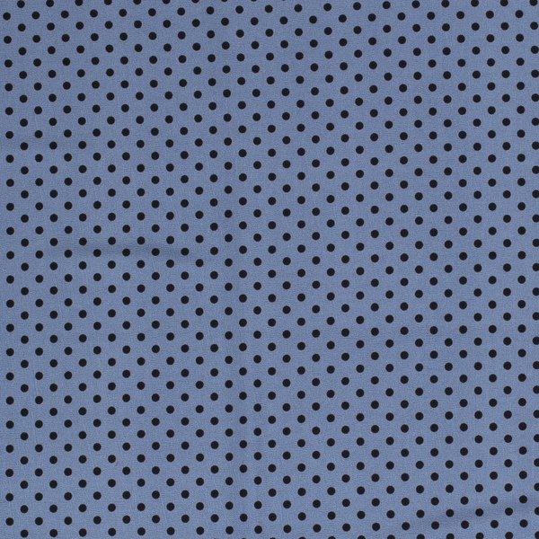 Polyester ministipje jeansblauw