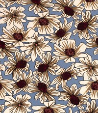 Tricot african flowers