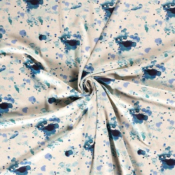 Linnenlook blauwe spetters