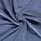 Bamboe fleece badstof jeansblauw