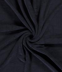 Bamboe fleece badstof donkerblauw