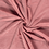Bamboe fleece badstof donker roze